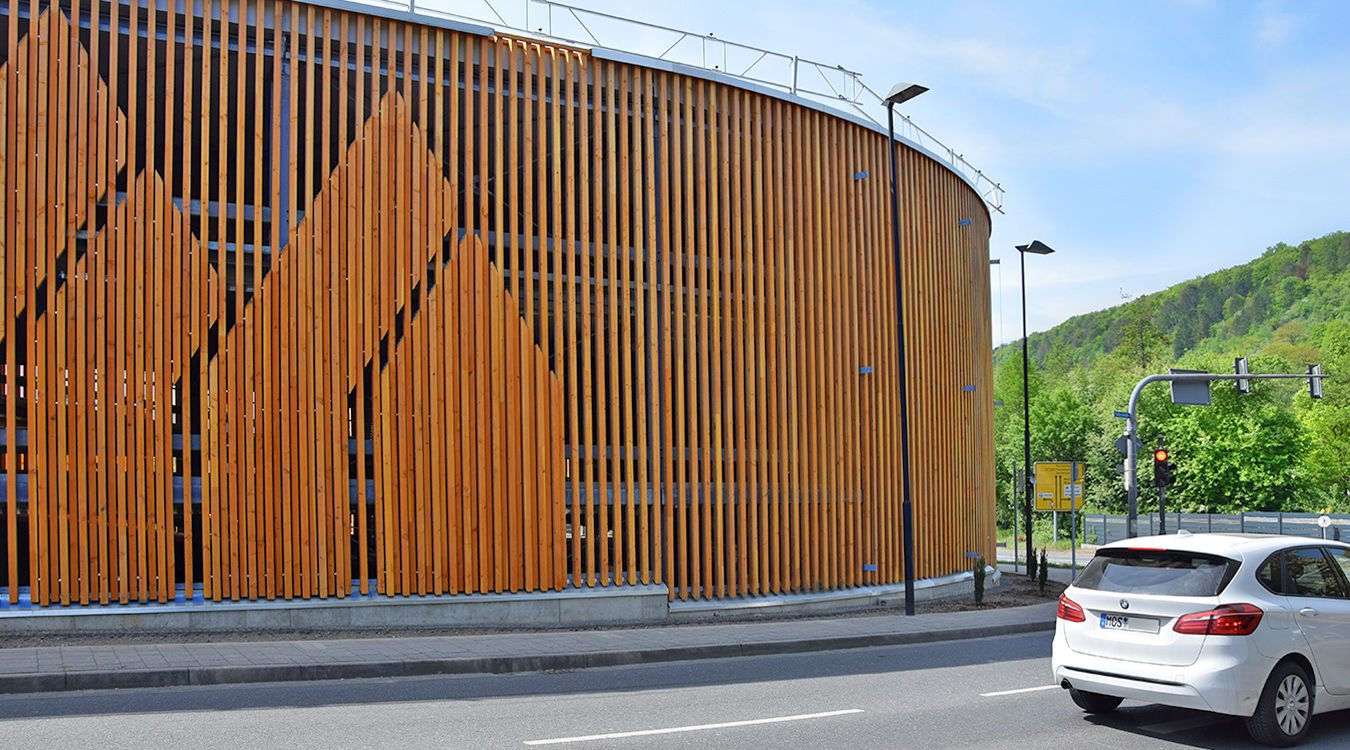 Stadtwerke Mosbach - Parkhaus