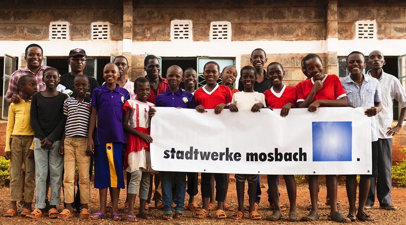 Stadtwerke Mosbach helfen Waisenkinder in Afrika