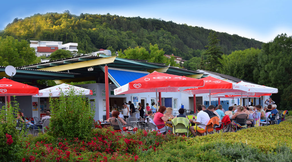 faMos-Gastronomie Oase Spaßbad faMos Freibad Mosbach