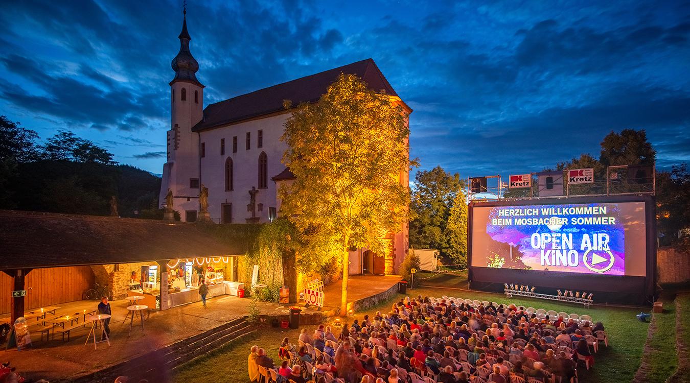 OpenAir Kino Mosbach Stadtwerke Mosbach Freizeit Neckar-Odenwald