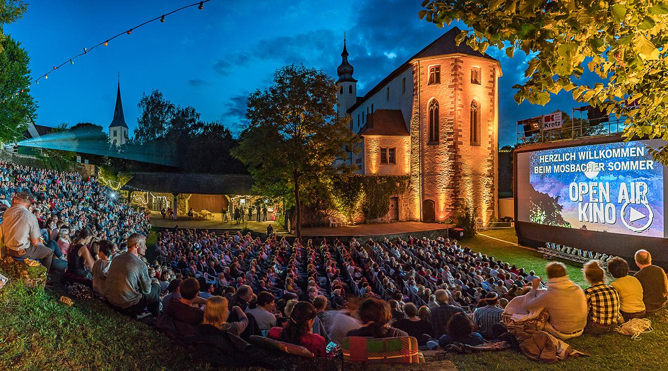 OpenAir Kino Mosbach Neckarelz Stadtwerke Mosbach